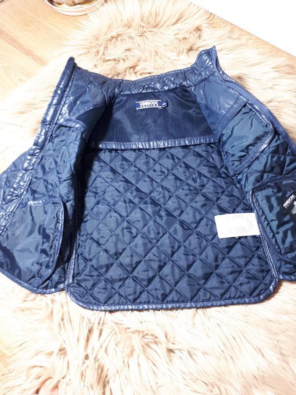 Стеганая  куртка для мальчика 2-3 лет geox - Фото 6