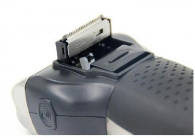 Мужской триммер бритва аккумуляторная для стрижки волос и бороды - Фото 3