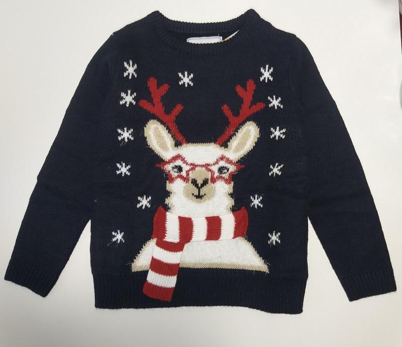Новогодний свитер джемпер