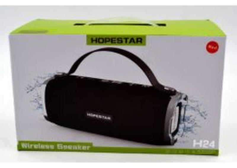 Оригинальная портативная Bluetooth колонка Hopestar Н24 - Фото 7