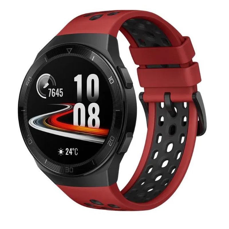 Продам смарт-часы Huawei Watch GT 2e (46 mm), цвет Black/Mint/Red - Фото 6