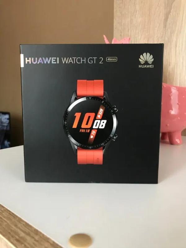 Продам смарт-часы Huawei Watch GT 2 Sport (46mm), оригинал - Фото 2