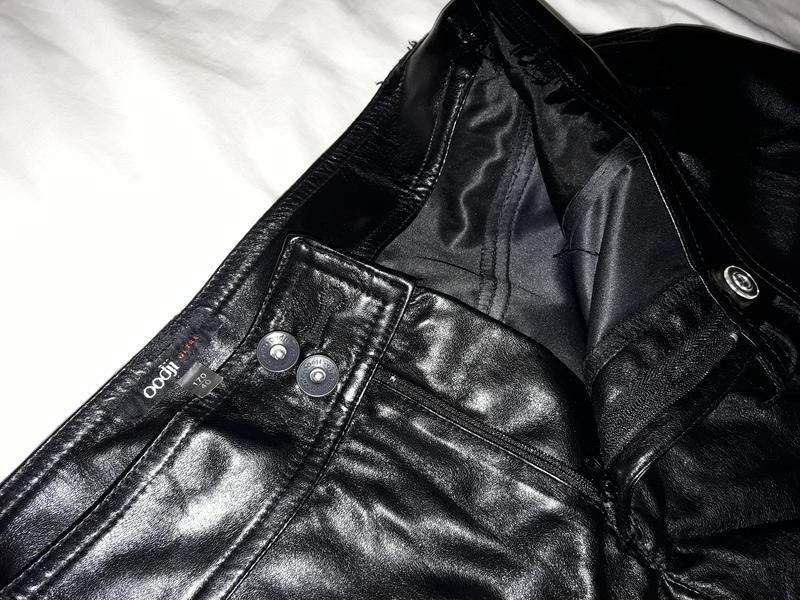 Кожаные шорты oodji ultra - Фото 5