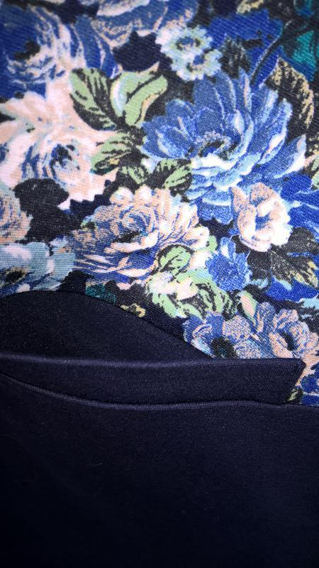 Дизайнерское платье прямого кроя с цветочным принтом от андре ... - Фото 4