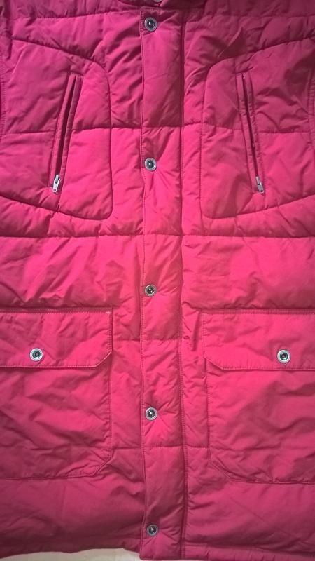 Удлиненная мужская куртка-пуховик oliver xl - Фото 3