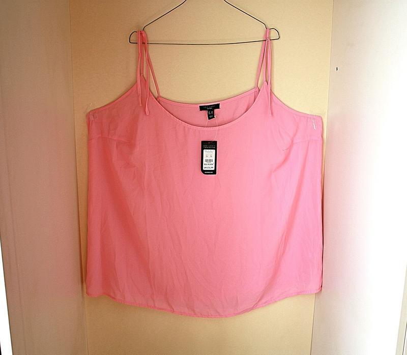 Майка-блузка новая с биркой батал большой размер new look curv...