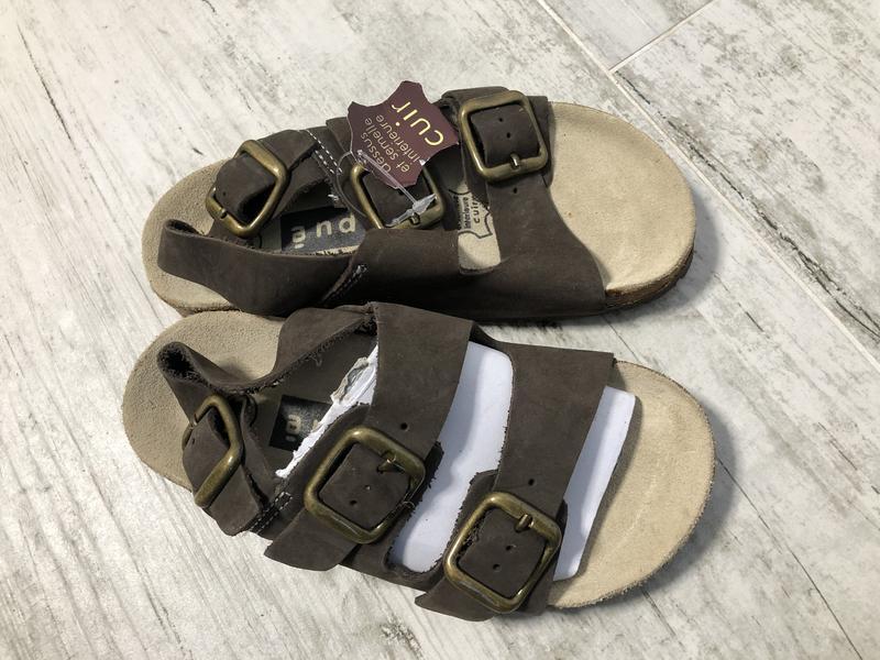 Новые кожаные сандали сандалии р.28 andre