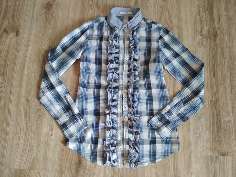 Клетчатая рубашка от люкс бренда aglini