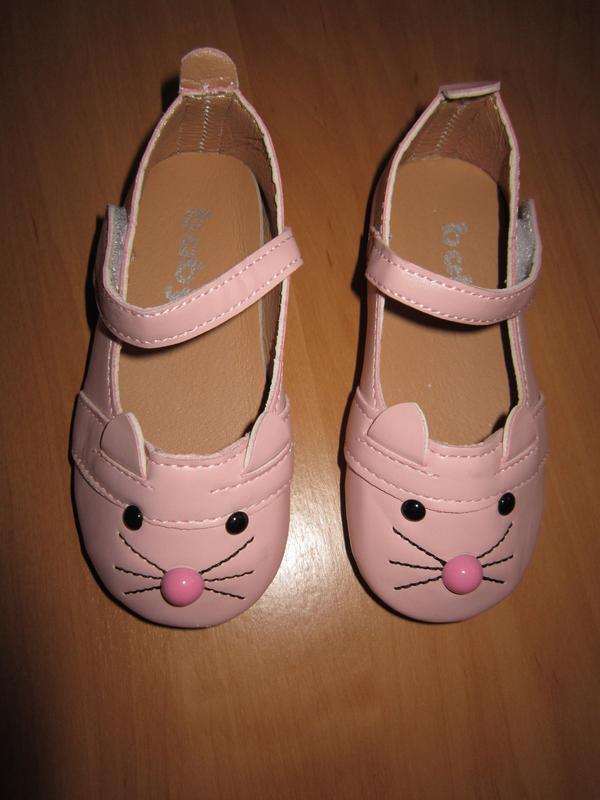 Туфли-котики на девочку