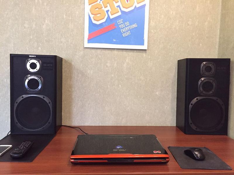 Колонки SONY SS-A715 Original 100w Коллекционное состояние. - Фото 3