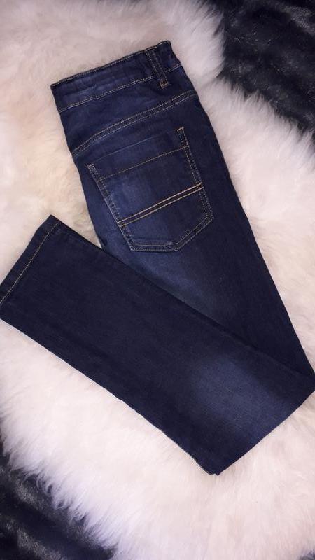 Зауженные джинсы для мальчика 13-14лет от f&f