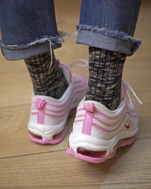 Кроссовки женские air max  pink - Фото 7