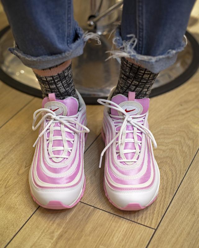 Кроссовки женские air max  pink - Фото 8