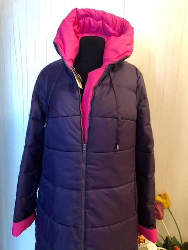 Пальто женское зимние - Фото 7