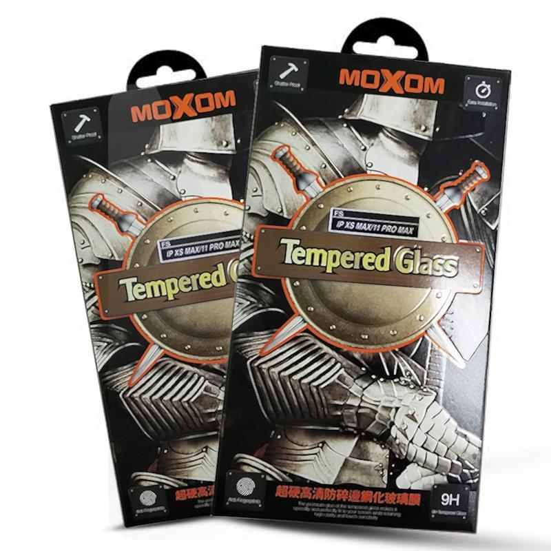 Защитное стекло MOXOM iPhone 6/6S белый