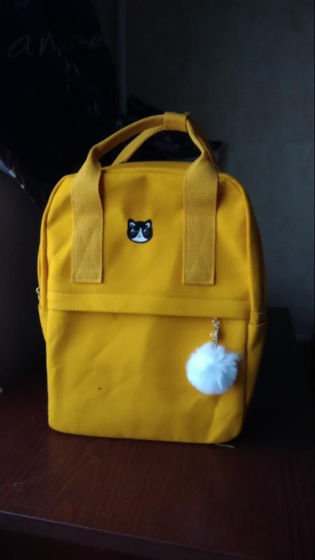 Яркий текстильный молодёжный тканевый рюкзак 🎒 - Фото 7