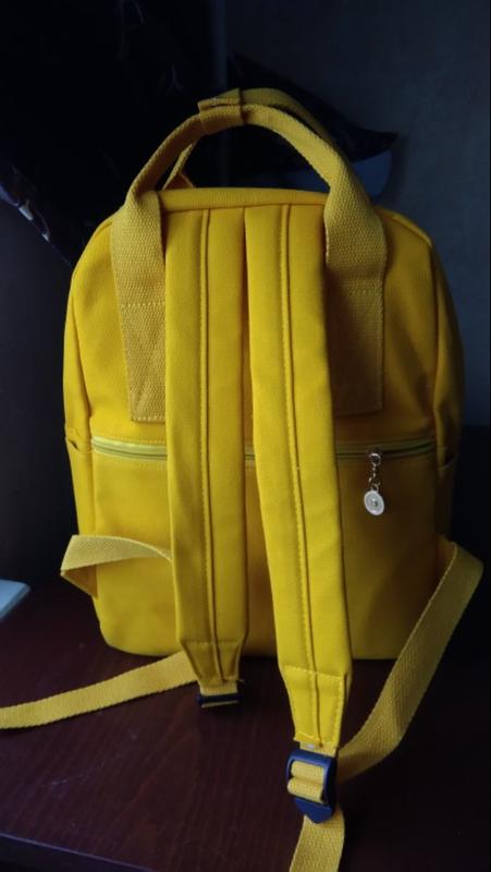 Яркий текстильный молодёжный тканевый рюкзак 🎒 - Фото 8