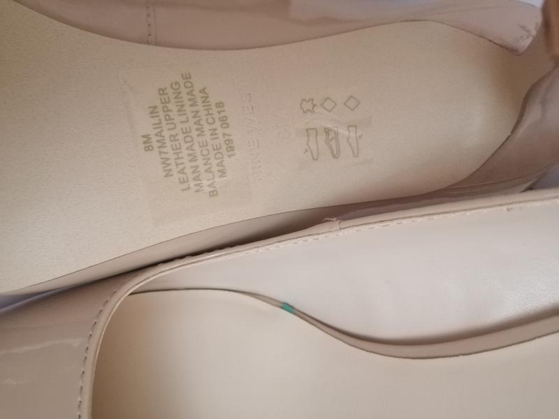 Стильные туфли nine west zara mango naturalizer - Фото 7
