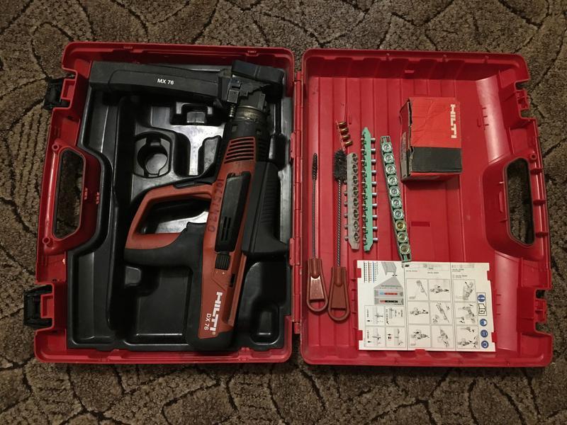 Монтажный пистолет Hilti DX 76 MX - Фото 2
