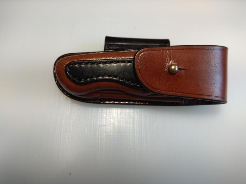 Кожаный чехол для ножа Victorinox Centurion или Garant.