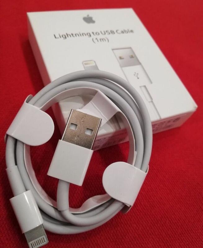 Оригинальный кабель(шнур) для зарядка iPhone на айфон 4/5/6/7/8/Х - Фото 2