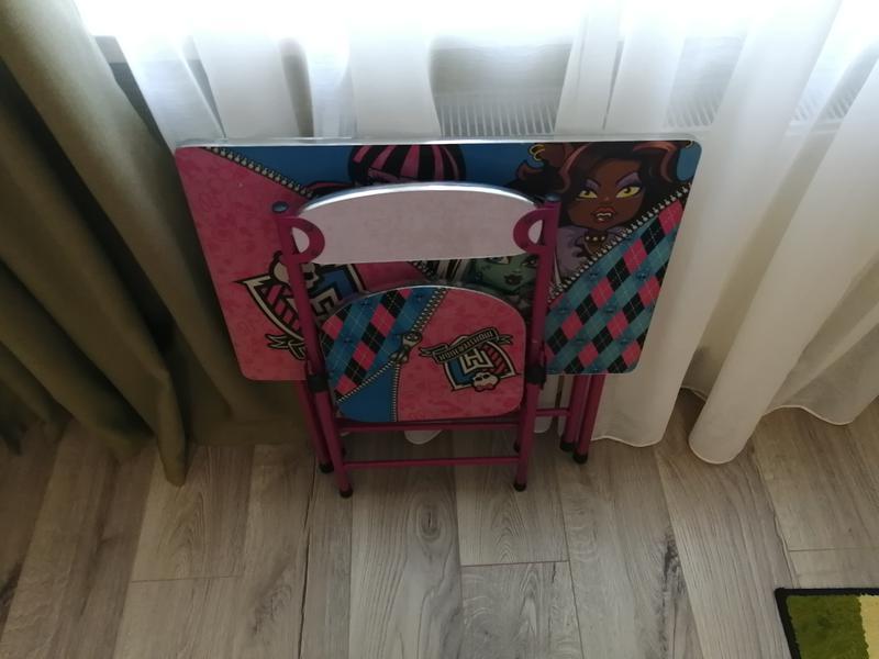 Стол и стул для дошкольников складной - Фото 3