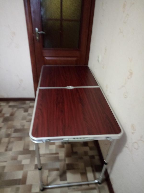 Стол для пикника, раскладной, с 4 стульями - Фото 7