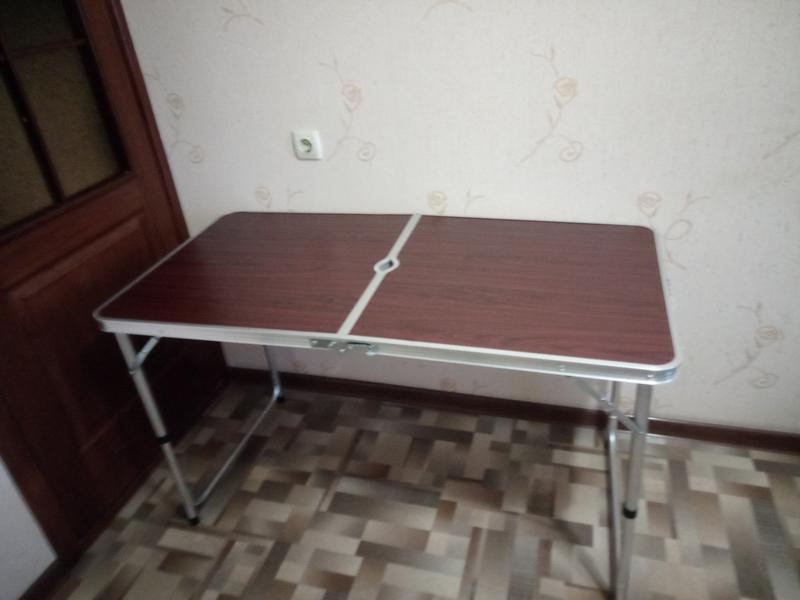 Стол для пикника, раскладной, с 4 стульями - Фото 5
