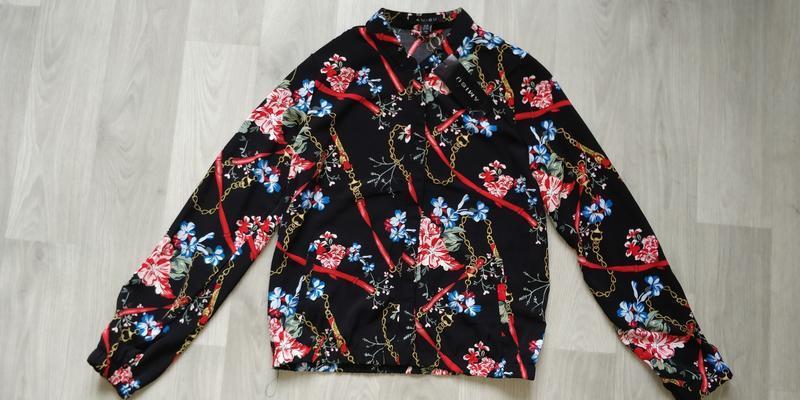 Новая женская тонкая куртка пиджак ветровка бомбер new yorker - Фото 9
