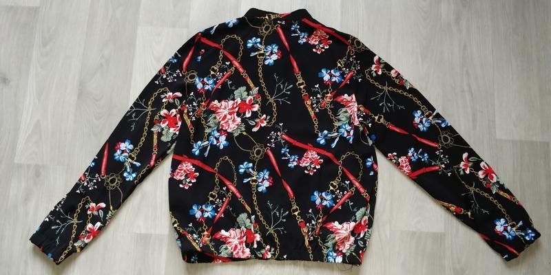Новая женская тонкая куртка пиджак ветровка бомбер new yorker - Фото 10