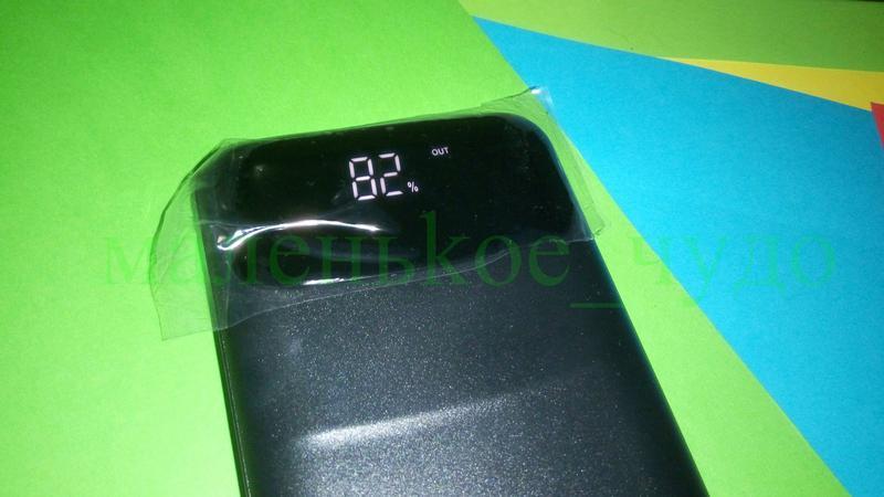 Мобильная зарядка Power Bank Z081 реал. емкость 9600 ПоверБанк 27 - Фото 2