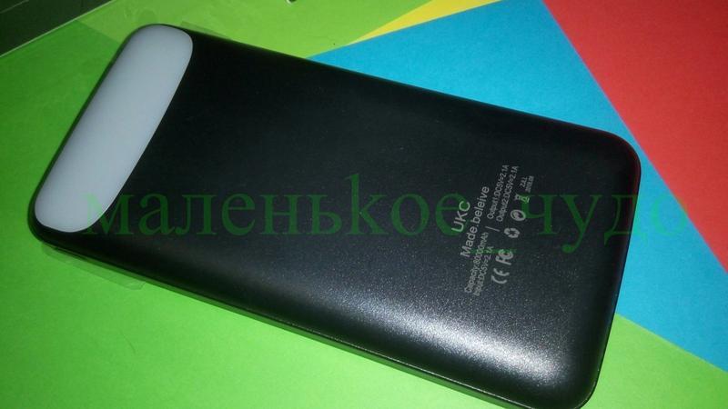 Мобильная зарядка Power Bank Z081 реал. емкость 9600 ПоверБанк 27 - Фото 7