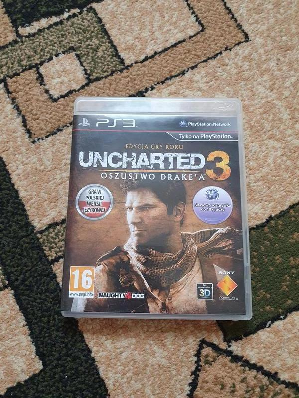 Игра Uncharted 3 (PS3)