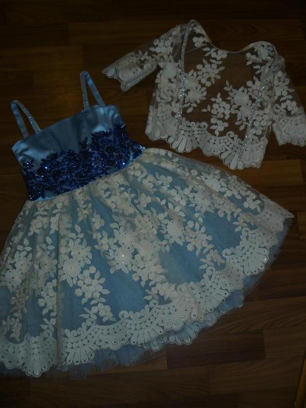 Невероятное,нарядное платье на принцессу 110-116см