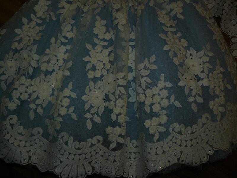 Невероятное,нарядное платье на принцессу 110-116см - Фото 5