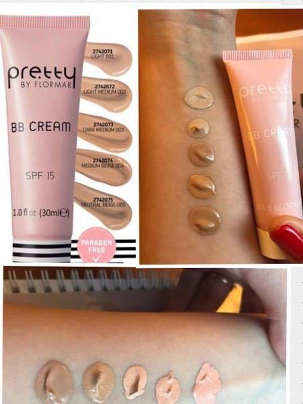 Крем с тональным эффектом bb cream pretty by flormar dark medium - 110 ₴,  купить на IZI (783218)
