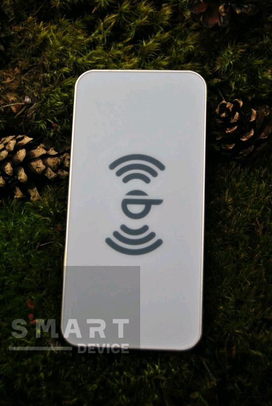 Беспроводное зарядное устройство-power bank 1000mah AWEI W1 БЕЛЫЙ - Фото 2