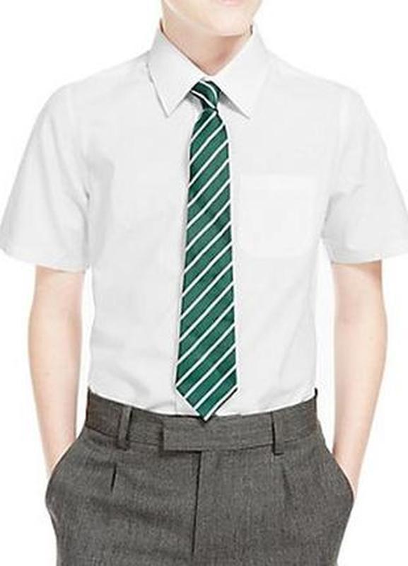 Рубашка школьная для мальчика f&f англия размер 9-10 лет