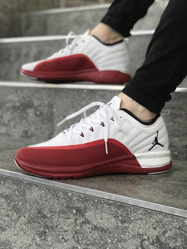 Модные кроссовки ???? jordan trainer prime white red ????