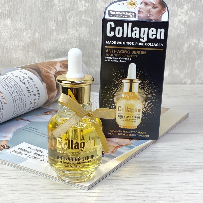 Антивозрастная сыворотка с коллагеном collagen anti-aging seru...
