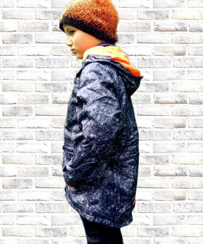 Демисезонные куртки на флисе 128-158 grace