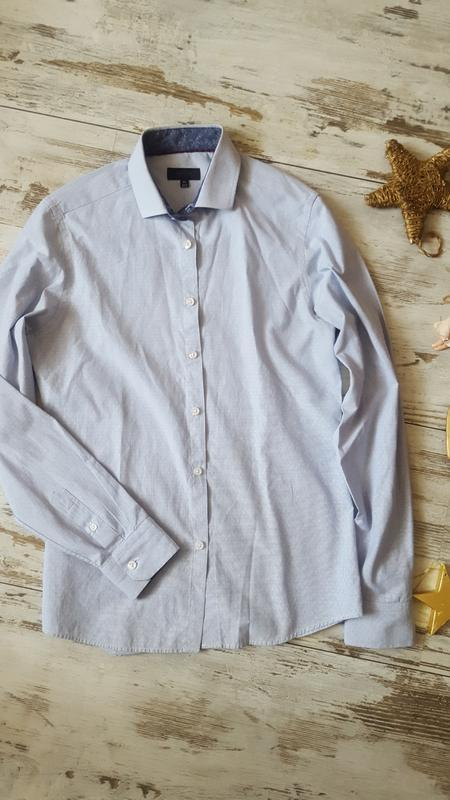 Рубашка классическая модная - Фото 2
