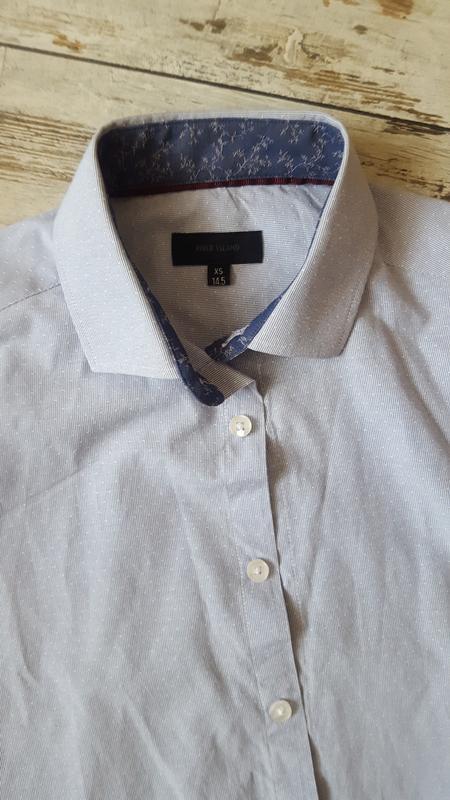 Рубашка классическая модная - Фото 5