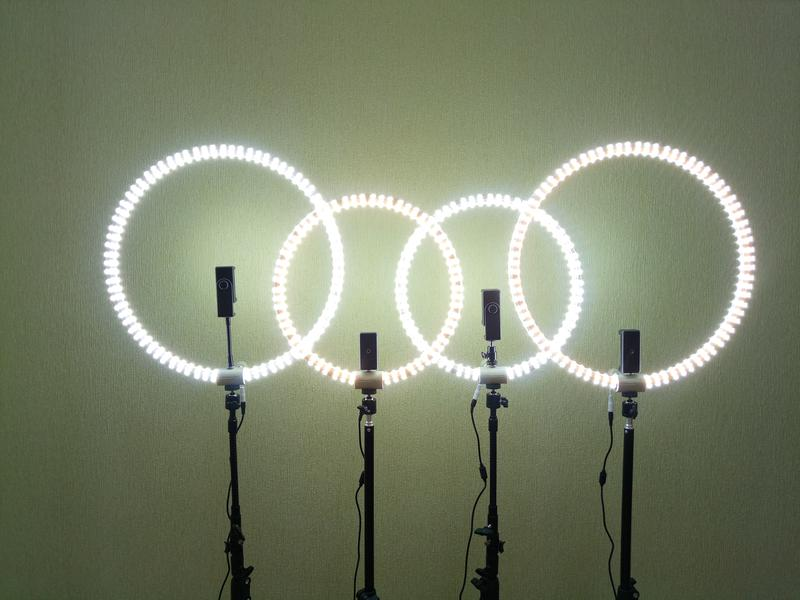 Лампа для визажиста. Led ring. Кольцевая лампа. Световое кольцо.