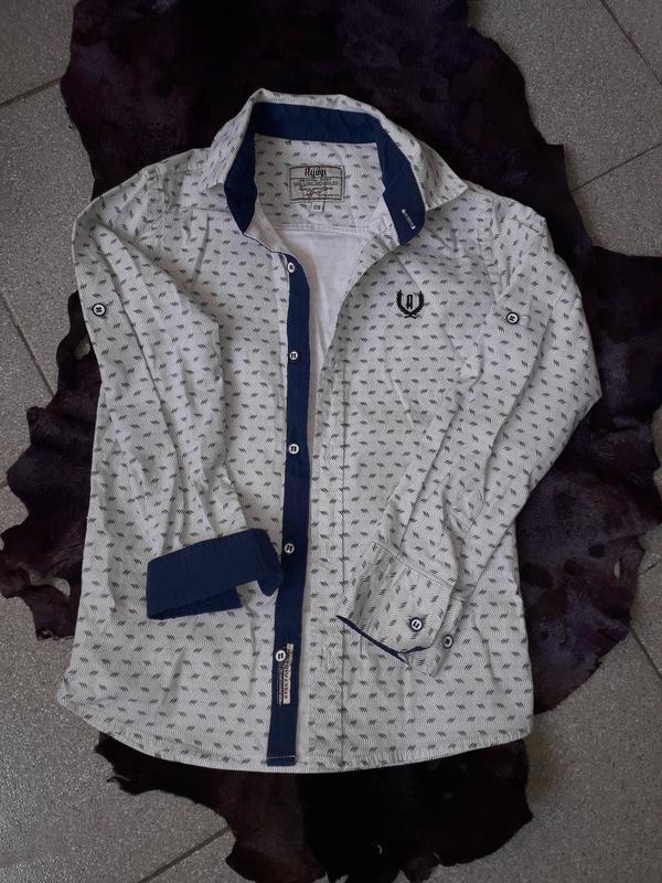 Стильная  стрейчевая  рубашка для мальчика ayugi jeans турция