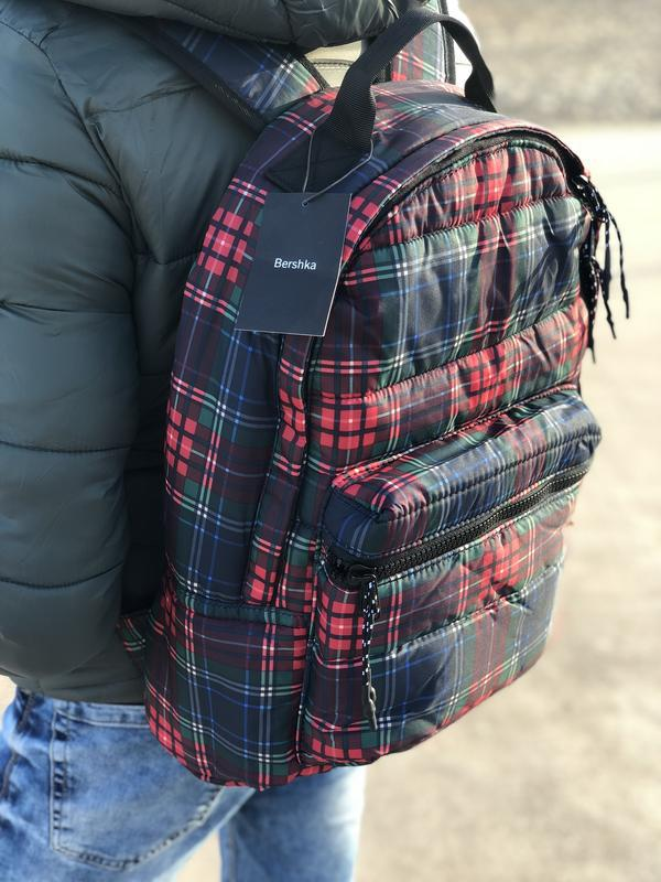 Мужской рюкзак bershka/чоловічий рюкзак - Фото 2