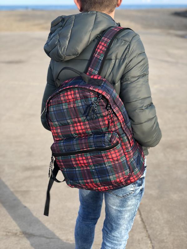 Мужской рюкзак bershka/чоловічий рюкзак - Фото 3