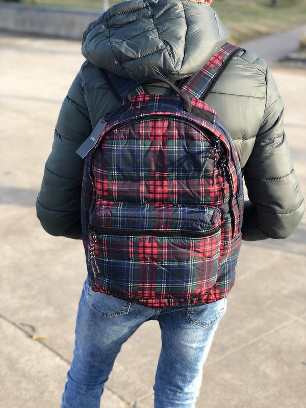 Мужской рюкзак bershka/чоловічий рюкзак - Фото 4