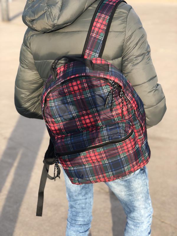 Мужской рюкзак bershka/чоловічий рюкзак - Фото 5