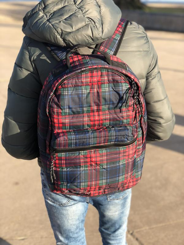 Мужской рюкзак bershka/чоловічий рюкзак - Фото 6